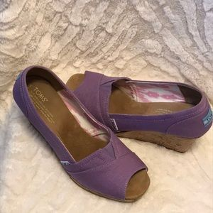Lilac wedges